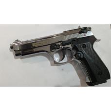 B92 Kurs (Beretta) хром кал.10ТК охолощенный СХП пистолет