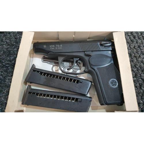 Газ. пистолет ИЖ-79-8, кал.8мм (2001г.)