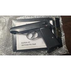 Газ. пистолет Walther Super PP ,кал.9мм P.A.K. (1994г.)