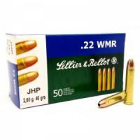 Патрон нарезной 22 WMR S&B 2,6г JHP SB (50шт)