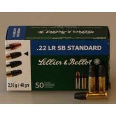 Патрон нарезной  22 LR S&B SB Standart (50шт) патрон