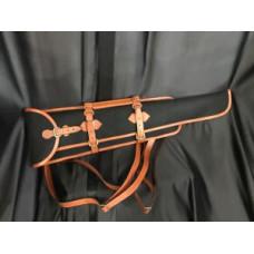 Чехол оружейный (Кожа, войлок)