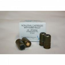 Патрон ООП 45 Rubber (12 шт) с рез. пулей (Фортуна)