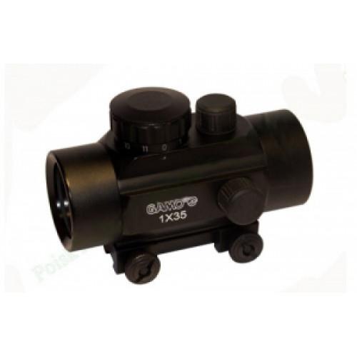 Коллиматор Gamo 1х35 Red Dot на вивер