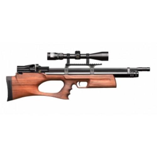 РСР винтовка Puncher. breaker.3  к.6,35мм орех (модератор)