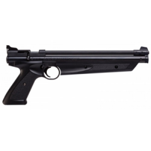 Пистолет пневм. Crosman P1377 (пласт. черн., накачка), кал.4,5 мм