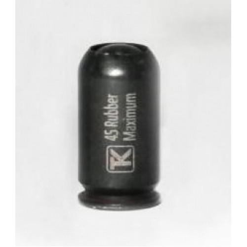 45 Rubber BLACK MAXIMUM c рез.пулей (20 шт.) (Техкрим)